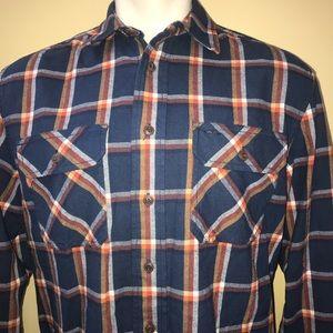 Pendleton Burnside Cotton Flannel Shirt Sz Medium
